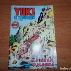 Livros de Banda Desenhada: YUKI EL TEMERARIO Nº 6 EDITORIAL VALENCIANA 1976. Lote 71074029