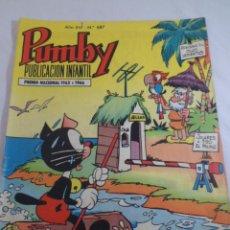 Tebeos: PUMBY PUBLICACIÓN INFANTIL AÑO XVI - Nº 687 VALENCIANA. 1970. Lote 71554291