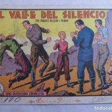 Tebeos: ROBERTO ALCÁZAR Y PEDRÍN Nº 170 EL VALLE DEL SILENCIO. VALENCIANA. Lote 71562623