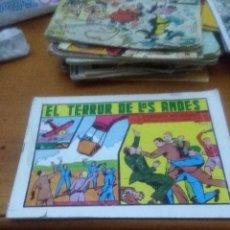 Tebeos: EL TERROR DE LOS ANDES. ROBERTO ALZAZAR. Nº 20 EST6B4. Lote 71699971