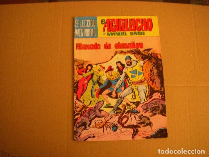 EL AGUILUCHO Nº 13, SELECCIÓN AVENTURERA, EDITORIAL VALENCIANA (Tebeos y Comics - Valenciana - Selección Aventurera)