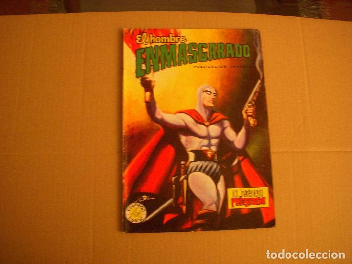EL HOMBRE ENMASCARADO Nº 21, COLECCIÓN COLOSOS DEL COMIC, VALENCIANA COLOR (Tebeos y Comics - Valenciana - Colosos del Comic)