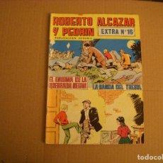 Tebeos: ROBERTO ALCAZAR Y PEDRÍN EXTRA Nº 16, EDITORIAL VALENCIANA. Lote 72129995