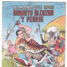 Tebeos: ROBERTO ALCAZAR Y PEDRIN ALMANAQUE 1963 ORIGINAL. Lote 72264459