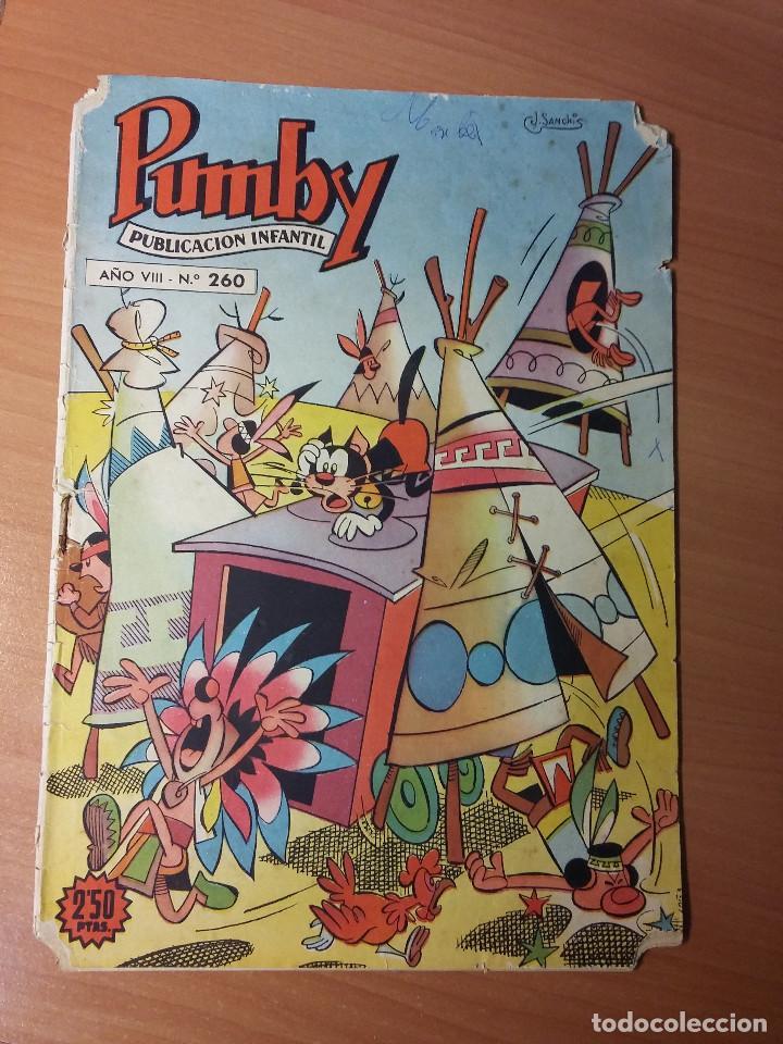 PUMBY NUMERO 260 (Tebeos y Comics - Valenciana - Pumby)