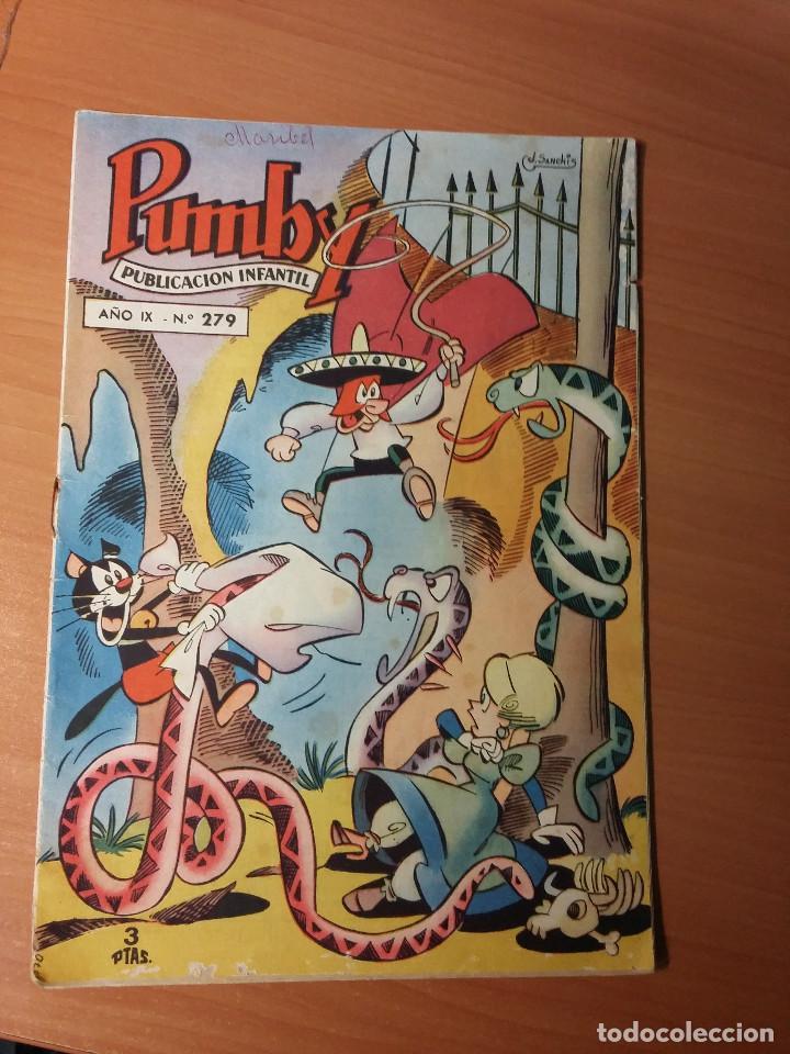 PUMBY NUMERO 279 (Tebeos y Comics - Valenciana - Pumby)