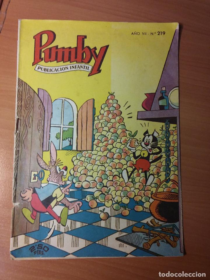 PUMBY NUMERO 219 (Tebeos y Comics - Valenciana - Pumby)