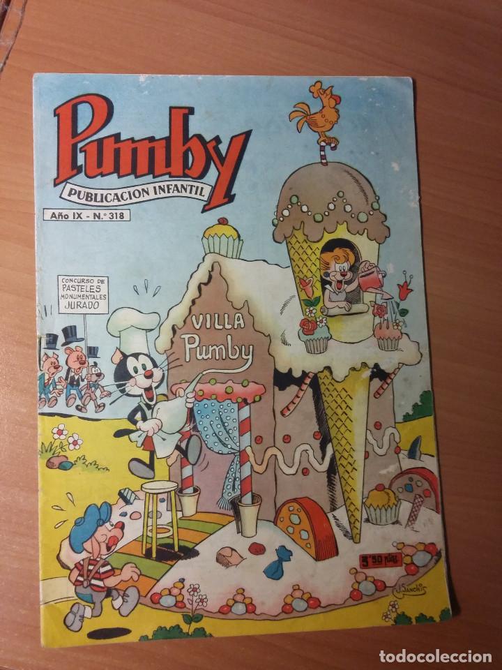 PUMBY NUMERO 318 (Tebeos y Comics - Valenciana - Pumby)