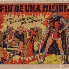 Tebeos: COMIC * EL GUERRERO DEL ANTIFAZ: EL FIN DE UNA MISIÓN *. Nº 63. 1ª EDICIÓN. AÑO 1949.. Lote 73028571