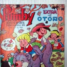 Tebeos - PUMBY , EXTRA DE OTOÑO , Nº 986 , 1976 , VALENCIANA , ORIGINAL - 127723583