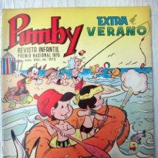 Tebeos - PUMBY , EXTRA DE VERANO , Nº 973 , 1976 , VALENCIANA , ORIGINAL - 73305175