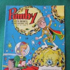 Tebeos: PUMBY Nº 1052 EDITORIAL VALENCIANA. Lote 73632411