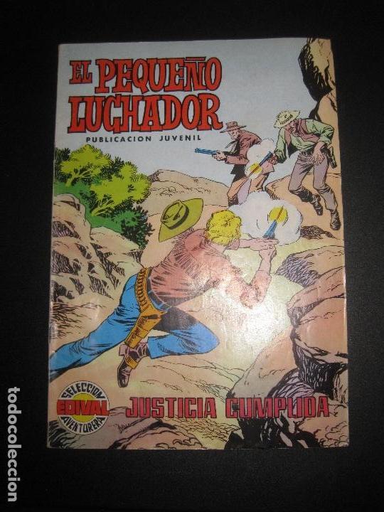EL PEQUEÑO LUCHADOR. Nº 10. JUSTICIA CUMPLIDA. SELECCION AVENTURERA EDIVAL 1977 (Tebeos y Comics - Valenciana - Pequeño Luchador)