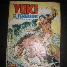 Tebeos: YUKI EL TEMERARIO Nº 18. AGUAS TURBULENTAS. SELECCION AVENTURERA EDIVAL 1976. Lote 74027143