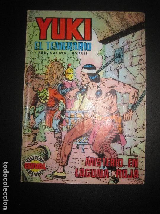 YUKI EL TEMERARIO Nº 13. MISTERIO EN LAGUNA ROJA. SELECCION AVENTURERA EDIVAL 1976 (Tebeos y Comics - Valenciana - Otros)