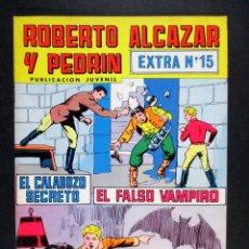 Tebeos: ROBERTO ALCÁZAR Y PEDRÍN , EXTRA Nº 15 , SEGUNDA ÉPOCA, NÚMERO EXTRAORDINARIO 15 , 1977. Lote 74402719