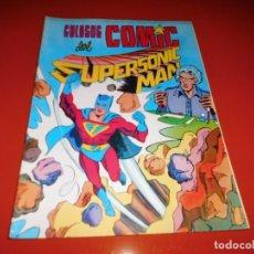 Tebeos: COLOSOS DEL COMIC Nº 4 - SUPERSONIC MAN - EDITORA VALENCIANA. Lote 74895631