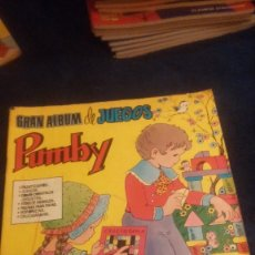 Tebeos: GRAN ALBUM DE JUEGOS PUMBY Nº8. Lote 74943867
