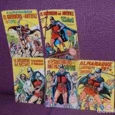 Tebeos: EL GUERRERO DEL ANTIFAZ ED.VALENCIANA. 5: ALMANAQUE, EXTRA VACACIONES, EXTRAORDINARIO 1973 1974 1975. Lote 75125683