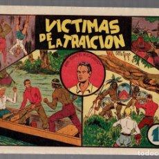 Tebeos: VICTIMAS DE LA TRAICION. VALENCIANA. ORIGINAL. Lote 75724715