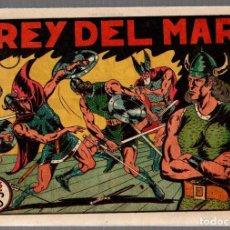 Tebeos: EL REY DEL MAR. Nº 1. EDITORIAL VALENCIANA. ORIGINAL, NO REEDICION. Lote 75726055