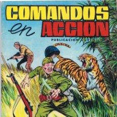 Tebeos: COMANDOS EN ACCIÓN Nº 17. ESCAPANDO DE LA MUERTE. Lote 75862359