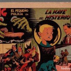 BDs: KING EL PEQUEÑO POLICIA EN LA NAVE DEL MISTERIO. ORIGINAL. AÑOS 40. Lote 76298099
