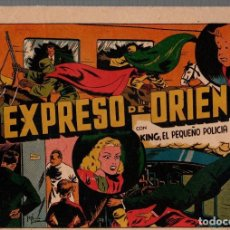BDs: EL EXPRESO DE ORIENTE CON KING, EL PEQUEÑO POLICIA. ORIGINAL. AÑOS 40. Lote 76298315