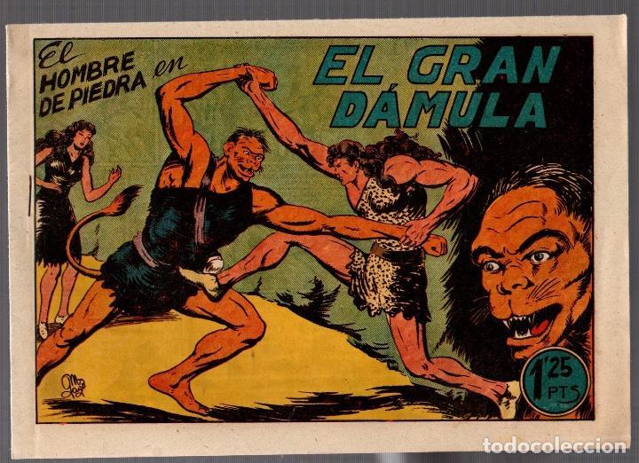 EL HOMBRE DE PIEDRA EN EL GRAN DÁMULA. Nº 14. VALENCIANA. ORIGINAL (Tebeos y Comics - Valenciana - Purk, el Hombre de Piedra)