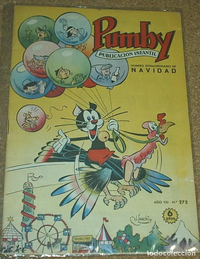 PUMBY EXTRA DE NAVIDAD Y REYES Nº 272 - ORIGINAL - (Tebeos y Comics - Valenciana - Pumby)