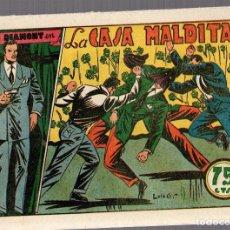 BDs: JIM DIAMONT EN LA CASA MALDITA. Nº 9. EDITORIAL VALENCIANA. ORIGINAL. Lote 76514299