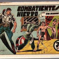 BDs: COMBATIENTES DE HIERRO CON JIM DIAMONT. Nº 13 VALENCIANA. ORIGINAL. Lote 76515259
