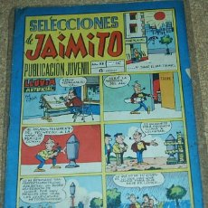 Tebeos: JAIMITO SELECCIONES Nº 147, - ORIGINAL DIFICIL EN BUEN ESTADO- VER DESCRIPCIÓN Y ENVIOS. Lote 76546863