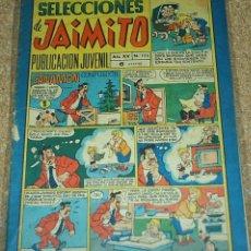 Tebeos: JAIMITO SELECCIONES Nº 173, - ORIGINAL DIFICIL EN BUEN ESTADO- VER DESCRIPCIÓN Y ENVIOS. Lote 76547079