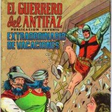 Tebeos: EL GUERRERO DEL ANTIFAZ. EXTRAORDINARIO DE VACACIONES. VALENCIANA 1975. Lote 76953037