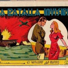 Tebeos: EL VENGADOR DEL MUNDO. LA BATALLA INVISIBLE. Nº 11. AÑO 1945. ORIGINAL. Lote 77221973
