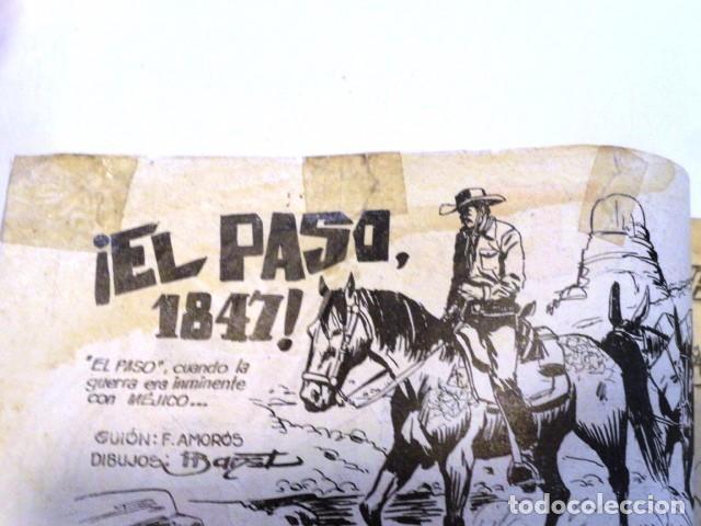 Tebeos: COMIC KID TEJANO EN EL PASO 1847 Nº 21 EDITORIAL VALENCIANA 1961 - Foto 3 - 77513821