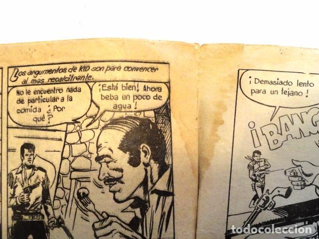 Tebeos: COMIC KID TEJANO EN EL PASO 1847 Nº 21 EDITORIAL VALENCIANA 1961 - Foto 5 - 77513821