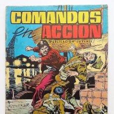 Tebeos: COMANDOS EN ACCIÓN, NÚMERO 1. EDITORAL VALENCIANA.. Lote 77900585