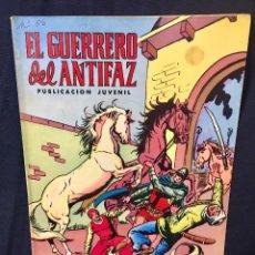 Tebeos: EL GUERRERO DEL ANTIFAZ Nº 56 SIGUIENDO LA PISTA 26,5X18,5CMS . Lote 78069349