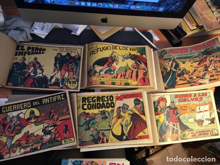 EL GUERRERO DEL ANTIFAZ LOTE 1 A 239 ORIGINALES PRIMERA EDICION MUY BUEN ESTADO 75 CTS 0,75 PTS (HAB (Tebeos y Comics - Valenciana - Guerrero del Antifaz)