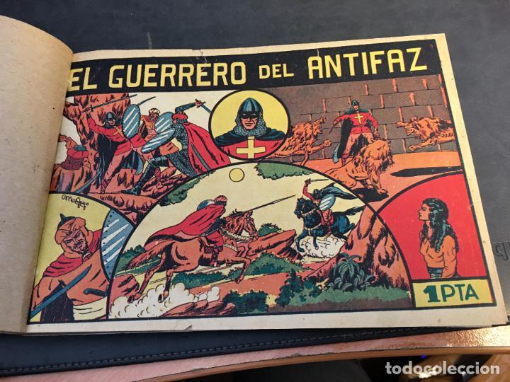 Tebeos: EL GUERRERO DEL ANTIFAZ LOTE 1 A 239 ORIGINALES PRIMERA EDICION MUY BUEN ESTADO 75 CTS 0,75 PTS (HAB - Foto 2 - 78074765