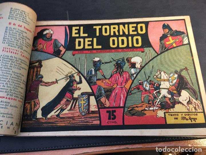 Tebeos: EL GUERRERO DEL ANTIFAZ LOTE 1 A 239 ORIGINALES PRIMERA EDICION MUY BUEN ESTADO 75 CTS 0,75 PTS (HAB - Foto 5 - 78074765
