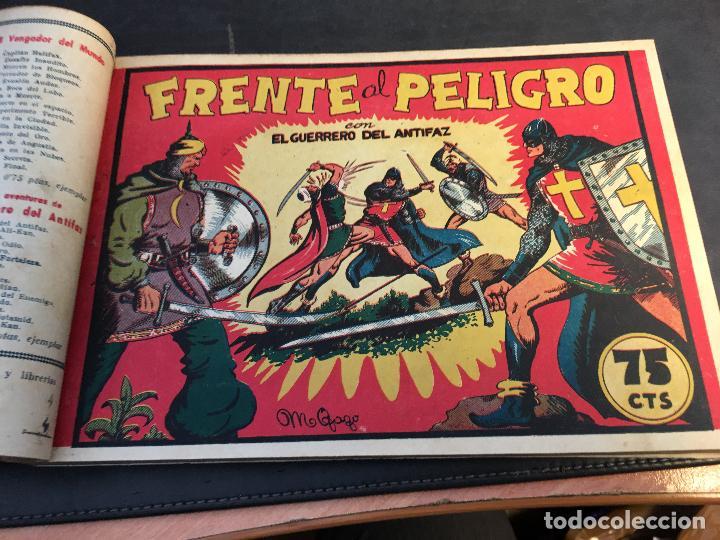 Tebeos: EL GUERRERO DEL ANTIFAZ LOTE 1 A 239 ORIGINALES PRIMERA EDICION MUY BUEN ESTADO 75 CTS 0,75 PTS (HAB - Foto 6 - 78074765