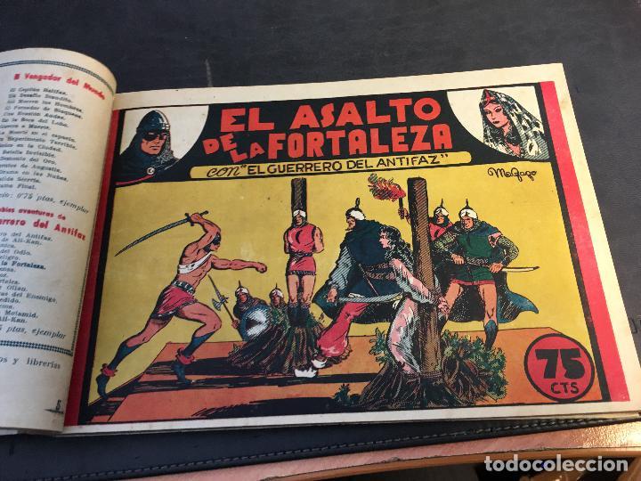 Tebeos: EL GUERRERO DEL ANTIFAZ LOTE 1 A 239 ORIGINALES PRIMERA EDICION MUY BUEN ESTADO 75 CTS 0,75 PTS (HAB - Foto 7 - 78074765