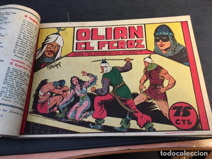 Tebeos: EL GUERRERO DEL ANTIFAZ LOTE 1 A 239 ORIGINALES PRIMERA EDICION MUY BUEN ESTADO 75 CTS 0,75 PTS (HAB - Foto 9 - 78074765