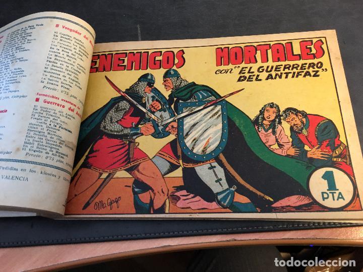 Tebeos: EL GUERRERO DEL ANTIFAZ LOTE 1 A 239 ORIGINALES PRIMERA EDICION MUY BUEN ESTADO 75 CTS 0,75 PTS (HAB - Foto 10 - 78074765