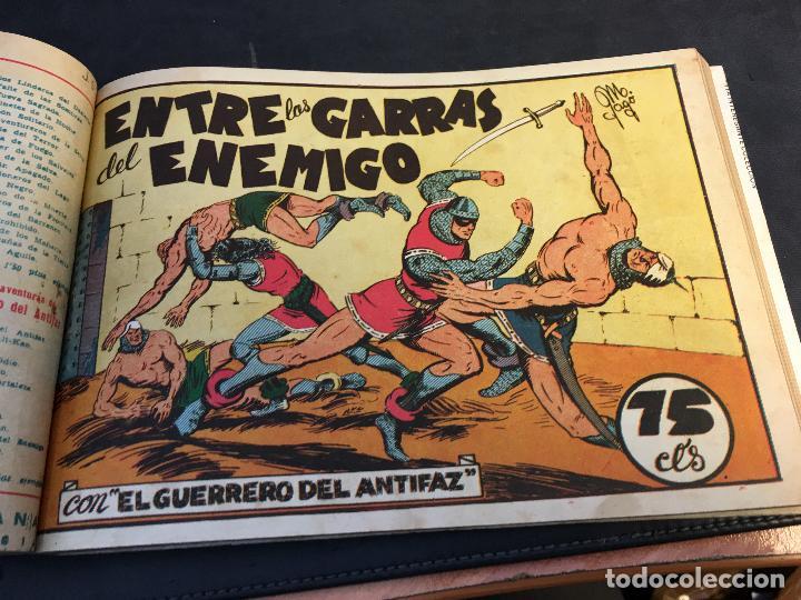 Tebeos: EL GUERRERO DEL ANTIFAZ LOTE 1 A 239 ORIGINALES PRIMERA EDICION MUY BUEN ESTADO 75 CTS 0,75 PTS (HAB - Foto 12 - 78074765