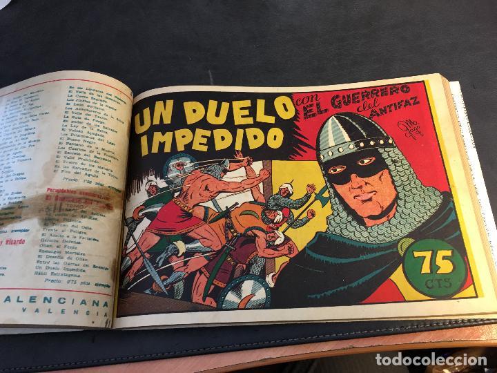Tebeos: EL GUERRERO DEL ANTIFAZ LOTE 1 A 239 ORIGINALES PRIMERA EDICION MUY BUEN ESTADO 75 CTS 0,75 PTS (HAB - Foto 13 - 78074765