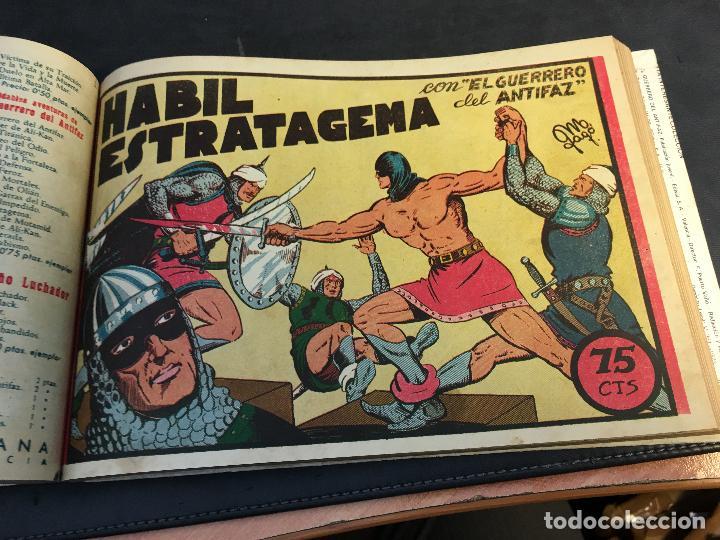 Tebeos: EL GUERRERO DEL ANTIFAZ LOTE 1 A 239 ORIGINALES PRIMERA EDICION MUY BUEN ESTADO 75 CTS 0,75 PTS (HAB - Foto 14 - 78074765